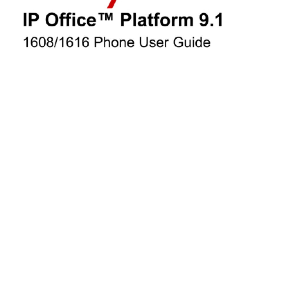 Avaya 1608 1616 User Manual 1024x1024 - Training Documents