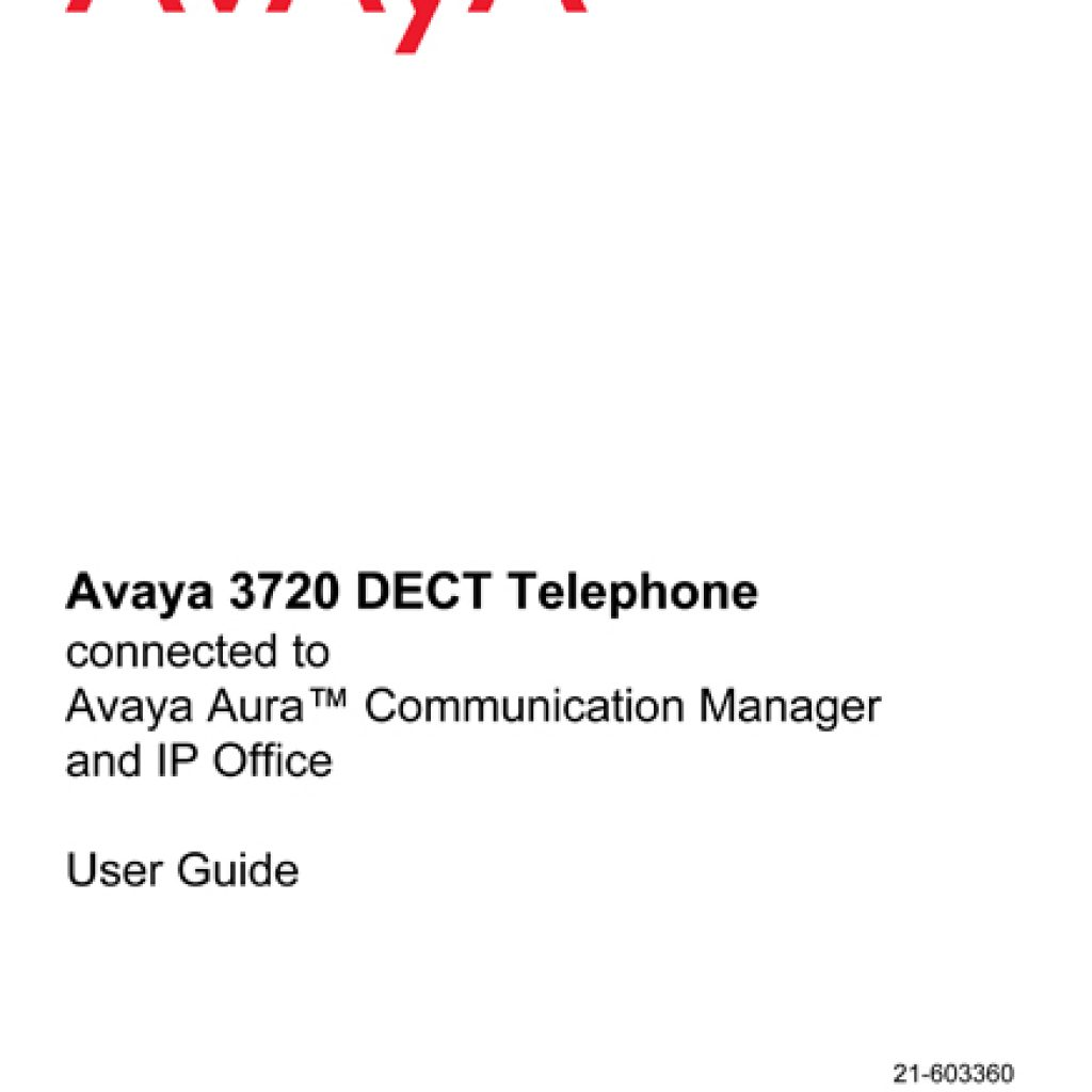 Avaya 3720 IP Dect Hanset User Manual 1024x1024 - Training Documents