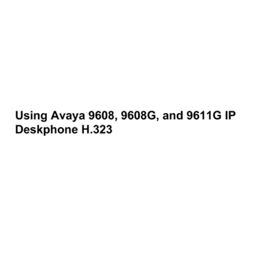 Avaya 9608G User Manual 1024x1024 - Training Documents