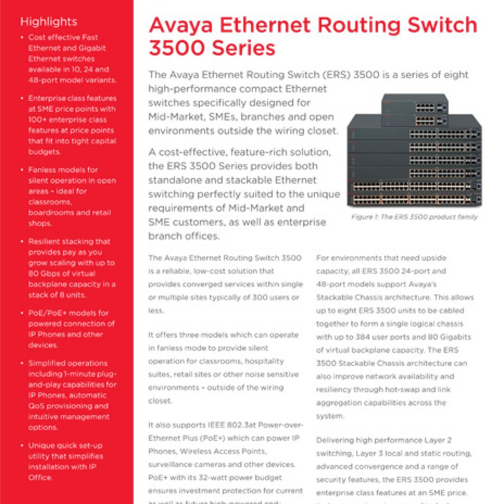 avaya ethernet routing switch 3500 series 1024x1024 - Downloads